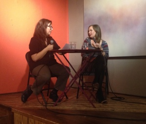 Q&A with Candace after the reading